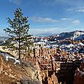 The Bryce Canyon in Utah
