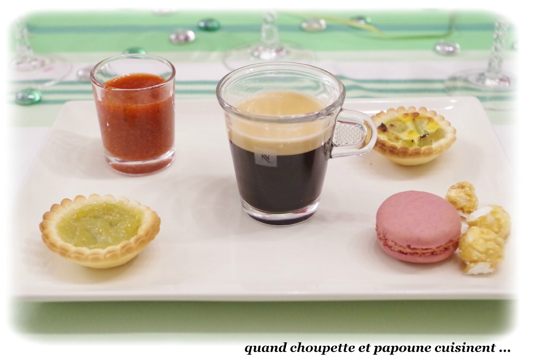 CAFE GOURMAND FRUITE