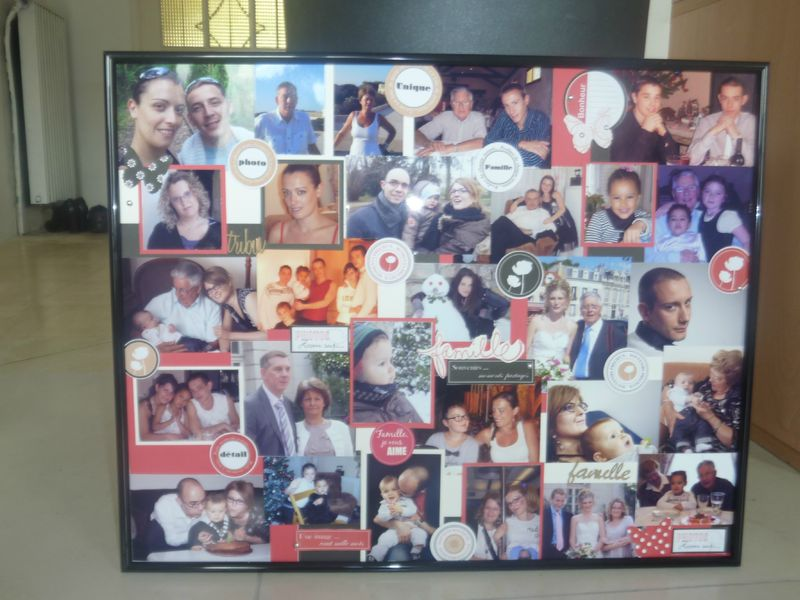 cadre p le m le pour mon grand p re alexscrap patouille. Black Bedroom Furniture Sets. Home Design Ideas