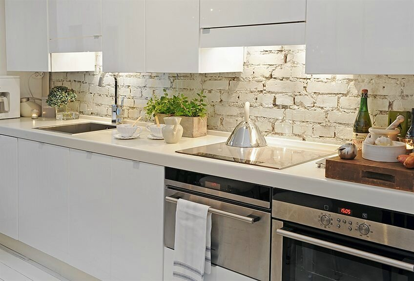 Superieur ... D Cuisines By HOMEDISIGNING 8 Green White Wood Kitchen (29)