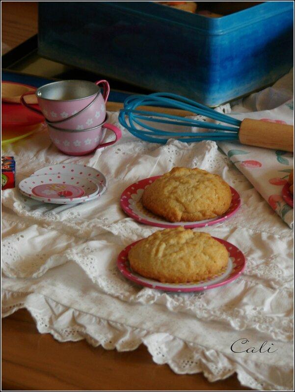 Cookies à la Purée d'Amandes 004