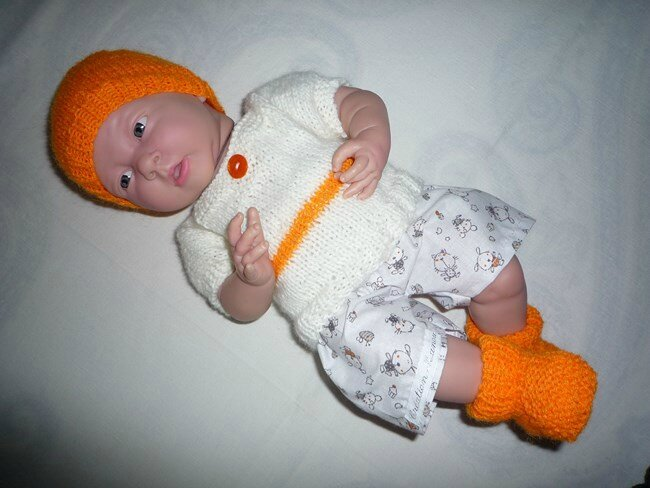 bb tenue 2 bonnet orange