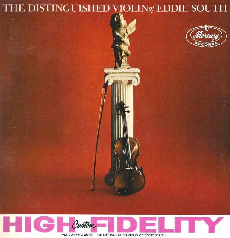 Eddie South - 1958 - The Distinguished Violin of Eddie South (Mercury)