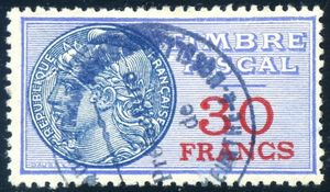 Licorne 30 francs