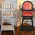 ★ les lundis téléchargeables ! coussin chaise haute