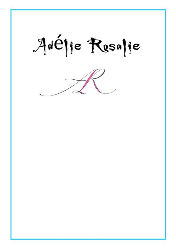 Adélie Rosalie lettre 3bis