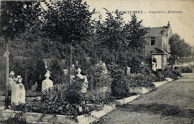 cimetière allemand Valenciennes