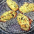Quenelles de riz aux courgettes