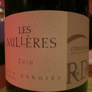 Malthazar Côtes du Roussillon Les Millères 2010 J&W