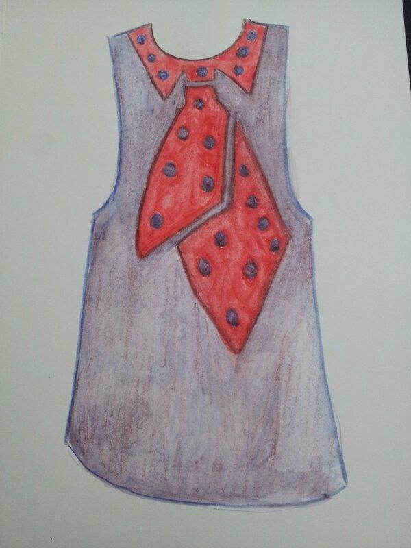 Schiaparelli - prototype sweater - 1930