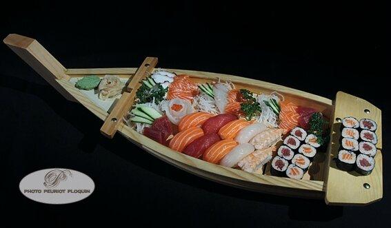 Le SUSHIDO: croisière aux pays des Sushis avec maître Zhang!