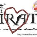Freebie : wordart pirate