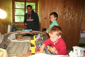 La table lego en maintenance