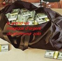 le sac magique du professeur zola qui vomit d'argent