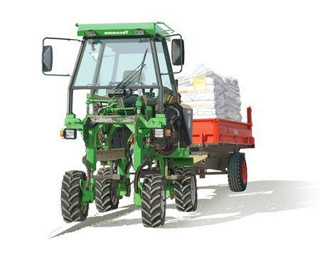 tracteur engrais