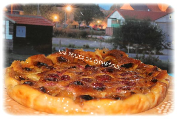 Clafoutis prunes 7