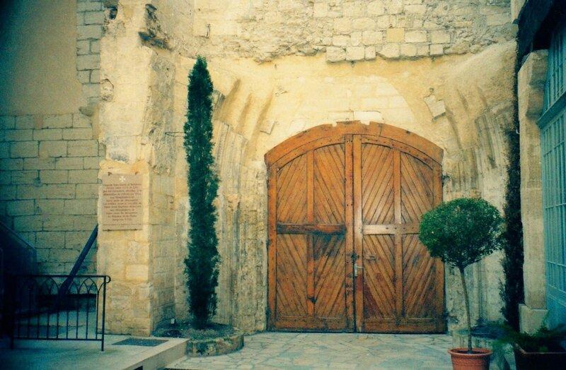 Avignon la chapelle des Templiers 2
