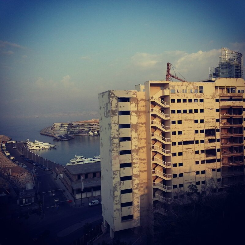 beyrouth toit