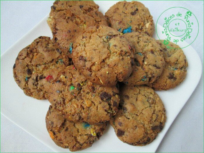 cookies choco-m&m's 2