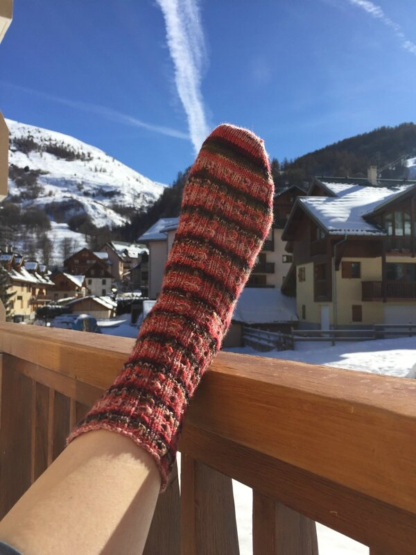 En vacances, c'est le pied (facile, ah ah ah)