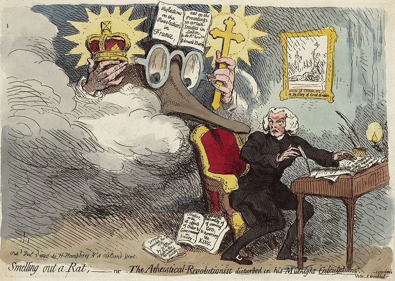 gillray-smellingoutarat