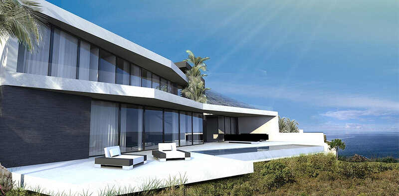 Maison contemporaine St Tropez