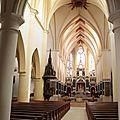 L'abbatiale saint-pierre à remiremont