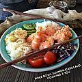 Poke bowl aux 2 poissons