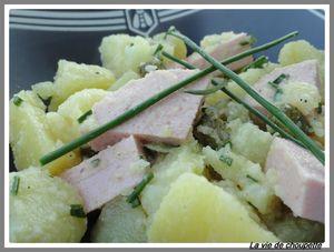 salade pommes de terre et cervelas 3