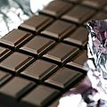 Tarte poire chocolat intense