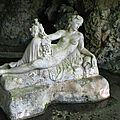Source-Seine, source de la Seine, statue