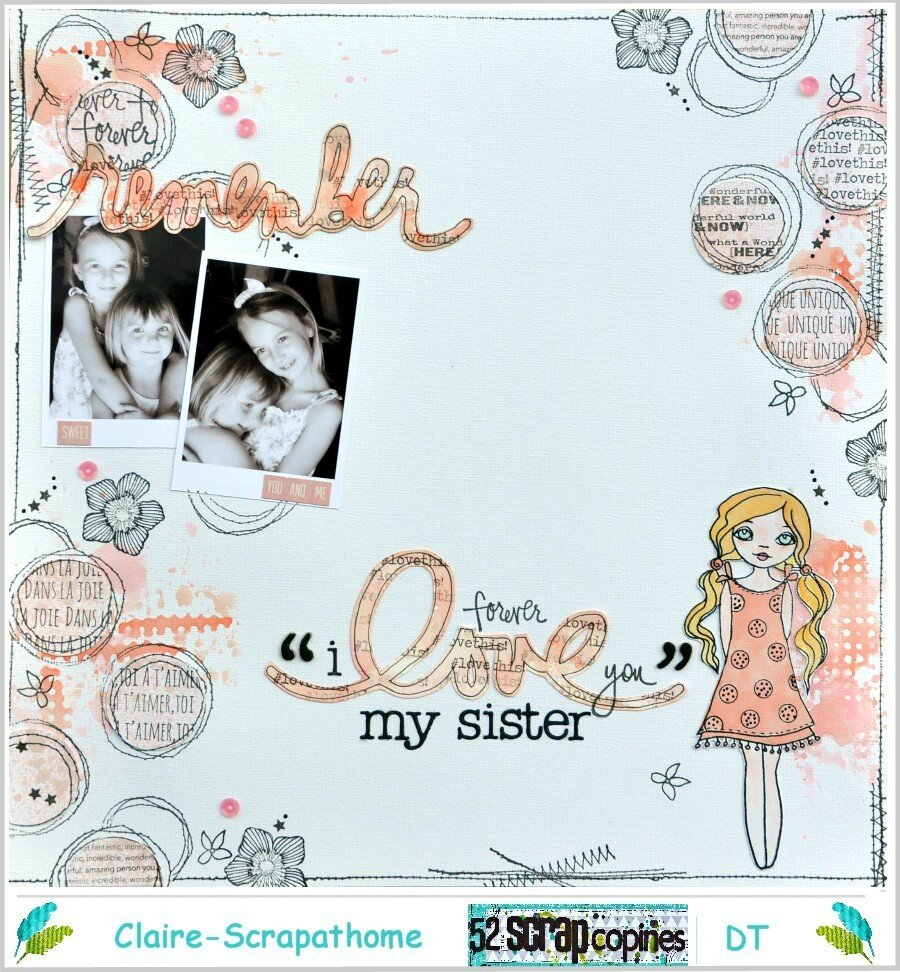 {remember ... forever i love you my sister}