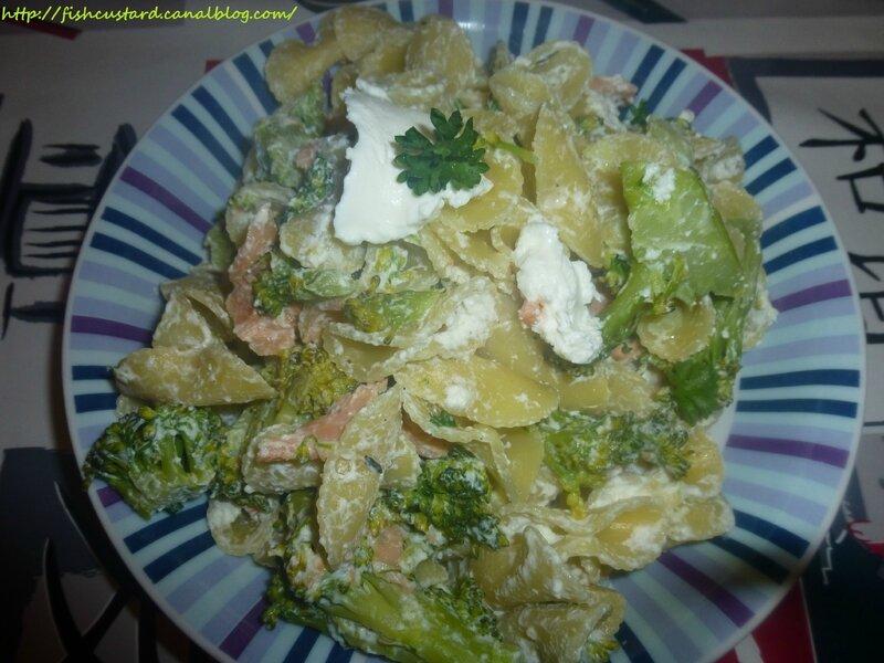 Pâtes saumon-brocoli-ricotta (7)