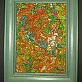 Deux tableaux en polymère