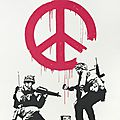 Banksy, 'cnd soldiers (signed)', 2005