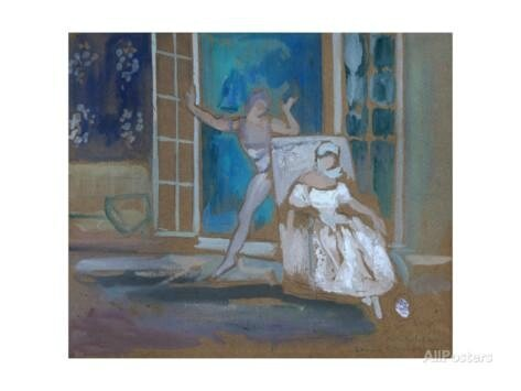 leon-bakst-nijinsky-and-karsavina-in-the-ballet-le-spectre-de-la-rose-1911
