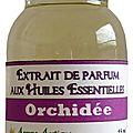 Extrait de parfum orchidée - perfume extract orchid