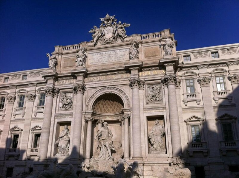 Rome Fontaine Trevi 10 dec 2015