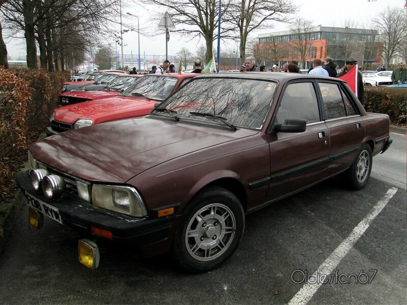 peugeot 505 turbo version us 1983 1989 a
