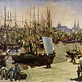 Manet, le port de bordeaux (1871)