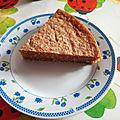 Gâteau vegan a la noix de coco et a la compote de pommes