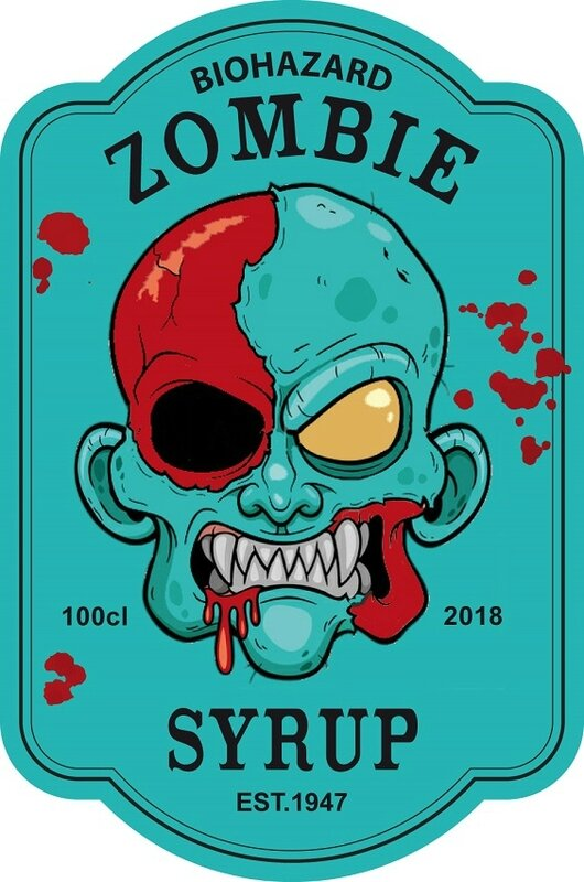 label zombie syrup virus