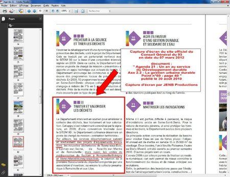 2012 03 07 capture écran CG 93 Agenda 21 40a