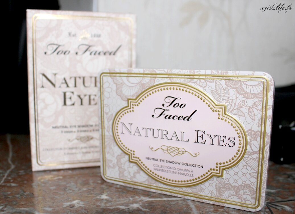 too faced natural eyes 6