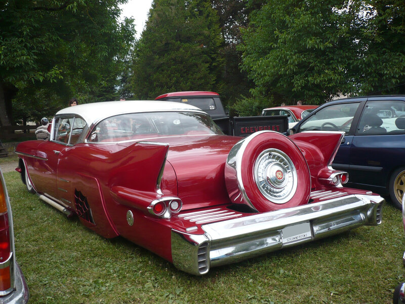 CADILLAC Series 62 Coupé DeVille 2door hardtop continental kit Custom 1958 Woerth (2)