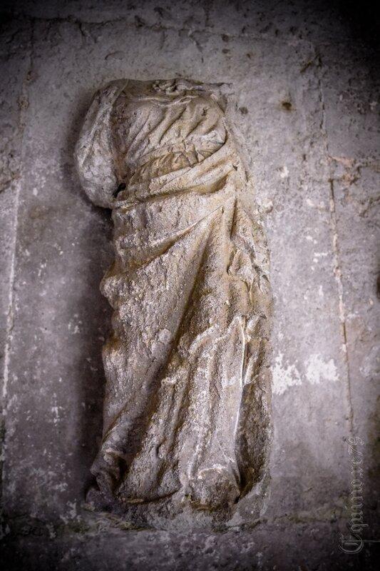 Tombeau d'Aénor de Chatellerault mère d'Aliénor d'Aquitaine Abbaye saint-vincent Nieul sur l'Autise (6)