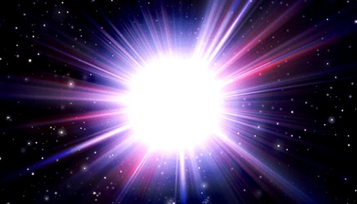 explosion lumière