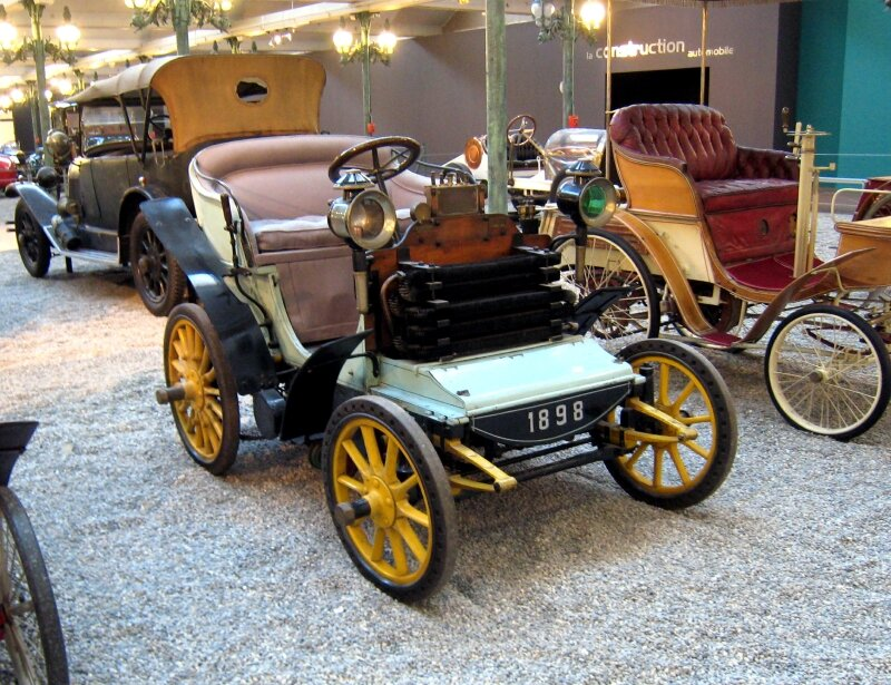 Bardon phaeton de 1897 (Cité de l'Automobile Collection Schlumpf à Mulhouse) 01