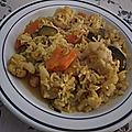 Riz au bouillon de couscous