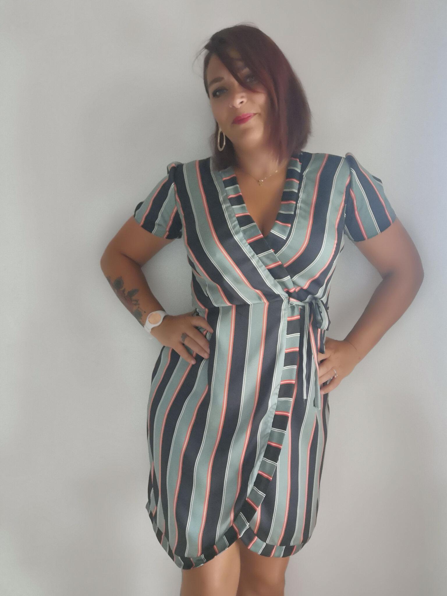 Robe Londres - Atelier Charlotte Auzou - j'apprends à coudre mes robes et petits hauts.